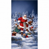 Good Tidings - Jolly St. Nick Panel