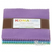 Kona Cotton - Sunset Charm Pack