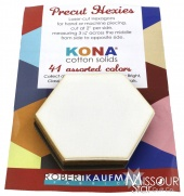 Kona Cotton - Neutrals Hexie Cuts