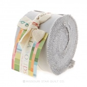 Bella Solids  Zen Grey Junior Jelly Roll by Moda
