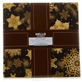 Holiday Flourish - Antique Metallic Ten Squares