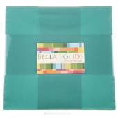 Bella Solids  Betty's Teal Junior Layer Cake by Moda