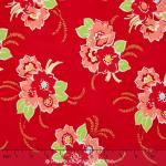 Miss Kate - Blossom Red Yardage