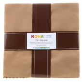 Kona Cotton - Sediment Ten Squares