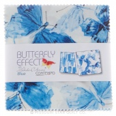 Butterfly Effect (Blue) Charm Pack