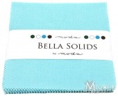 Bella Solids Egg Blue Charm Pack