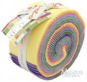 Bella Solids 30's Collection Jelly Roll By Moda Fabrics SKU# 9900JR 23