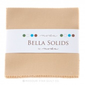 Bella Solids Tan Charm Pack