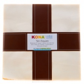 Kona Cotton - Not Quite White Ten Squares
