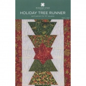 Holiday Tree Runner Quilt Pattern by MSQC