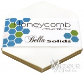 Bella Solids White Honey Comb