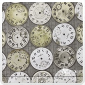 Eclectic Elements - Time Pieces Taupe Yardage