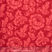 Mille Couleurs - Wide Damask Madder Red Backing