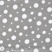 Cozy Cotton Boy - Grey Flannel Yardage