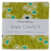 Simply Colorful II Charm Pack