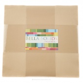 Bella Solids Parchment Junior Layer Cake by Moda