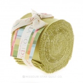 Bella Solids Clover Junior Jelly Roll by Moda