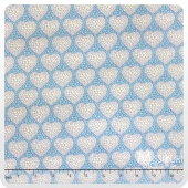 Grace - Blue Hearts Yardage