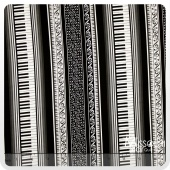 Concerto - Grand Piano Stripe-C Yardage