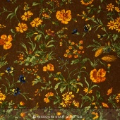 Sunflower Song - Nature's Symphony Brown Yardage