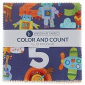 Color and Count Charm Pack