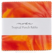 Tropical Punch Batiks Charm Pack