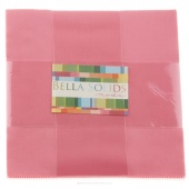 Bella Solids 30's Pink Junior Layer Cake