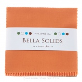 Bella Solids Ochre Charm Pack