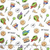 Nickelodeon Teenage Mutant Ninja Turtles - Emojis Got Pizza? Yardage