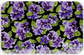 Lovely - Large Pansy Yardage