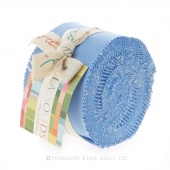 Bella Solids 30's Blue Junior Jelly Roll