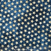 Stonehenge Stars & Stripes - Blue Stars Yardage