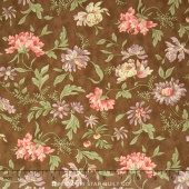 Hyde Park - Cornflower Brown Fawn Yardage