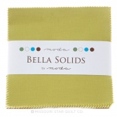 Bella Solids Clover Charm Pack by Moda