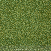 Shades of the Season 9 - Twigs Green Metallic Yardage