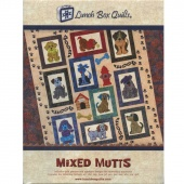 Mixed Mutts Pattern with USB