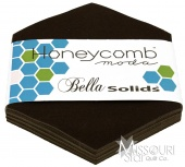 Bella Solids Brown Honey Comb