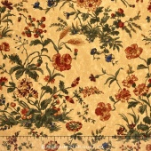 Sunflower Song - Nature's Symphony Tan Yardage