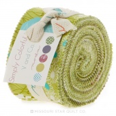 Simply Colorful II Green Junior Jelly Roll