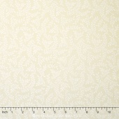 Wilmington Essentials - Cookies & Cream Sprigs Cream Yardage