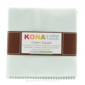 Kona Cotton - Overcast Charm Pack