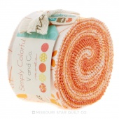 Simply Colorful Orange Junior Jelly Roll