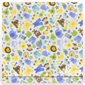 Snips and Snails - Snips Main Blue Yardage