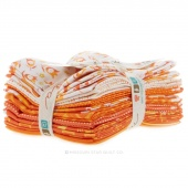 Simply Colorful Orange Fat Quarter Bundle