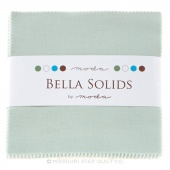Bella Solids Home Town Sky Charm Pack by Moda