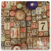 Eclectic Elements - Game Pieces Neutral Yardage
