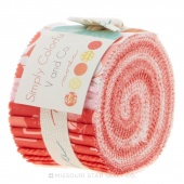 Simply Colorful Red Junior Jelly Roll