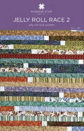 Digital Download - Jelly Roll Race 2 Quilt Pattern