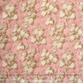 Rosewater c.1880 - Packed Leaves Pink Yardage