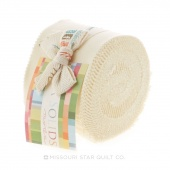 Bella Solids Snow Junior Jelly Roll